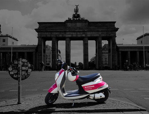 Blockchain Scooter